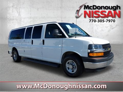 Pre-Owned 2018 Chevrolet Express 3500 LT